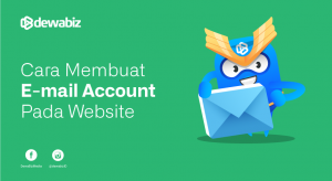 Cara Membuat e-mail account Pada Website