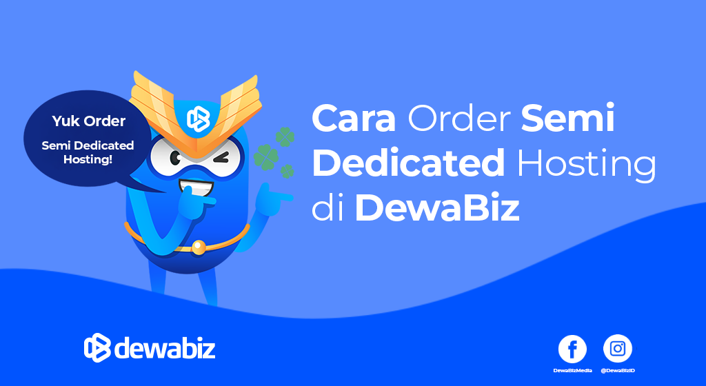Cara Order Semi Dedicated Hosting di DewaBiz
