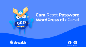 Cara Reset Password WordPress di cPanel