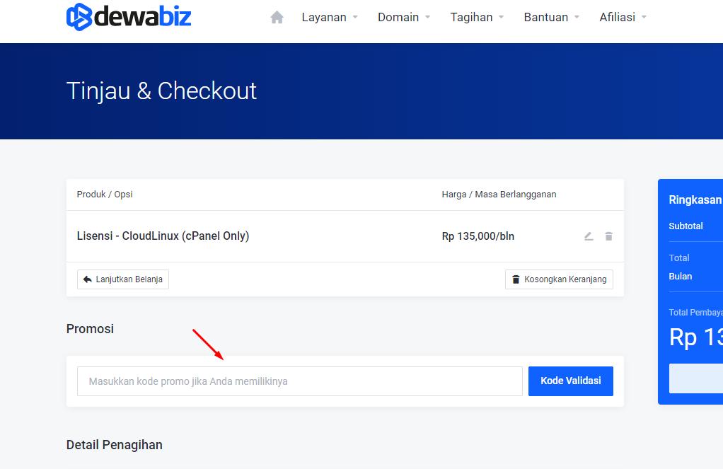 DewaBiz: Web Hosting Unlimited Murah Indonesia